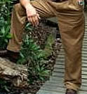 Standard size mens trousers