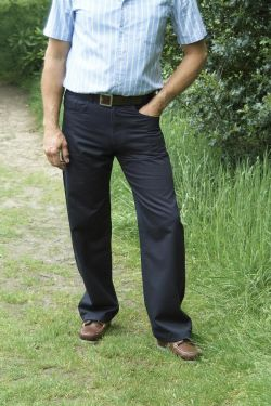 Mens Gabardine Twill Jeans Made to measure twill jeans