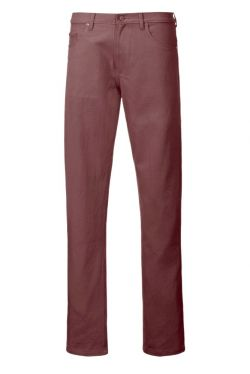Coloured Drill Jeans Aubergine