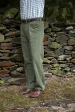 Mens Comfort Stretch Cord Trousers