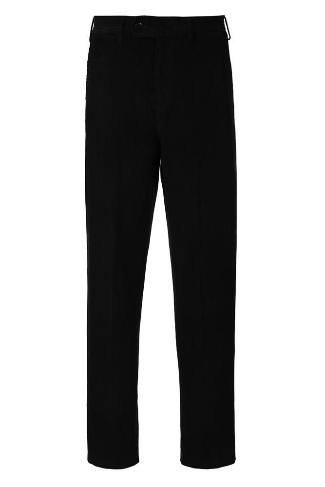 Trousers Fit for a King. Corduroys. Originally thought to have derived from the French 'corde du roi' or 'cloth of the king', the term 'corduroy' is now believed to have come from the word 'cord' referring to its 'wale' and 'duroy', a coarse woollen fabric made in England in the 18th century.