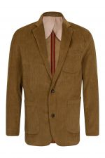 Mens Corduroy Jacket Tan (A012)