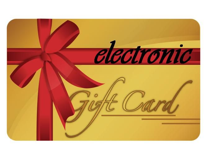 20 electronic Gift Card, Gift Cards Alexanders of London