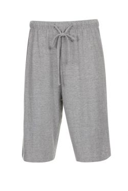 Lounge Pyjama Jersey Cotton Shorts Elasticated and Drawstring Colour Grey