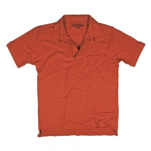 Soft Polo Pique Burnt Orange