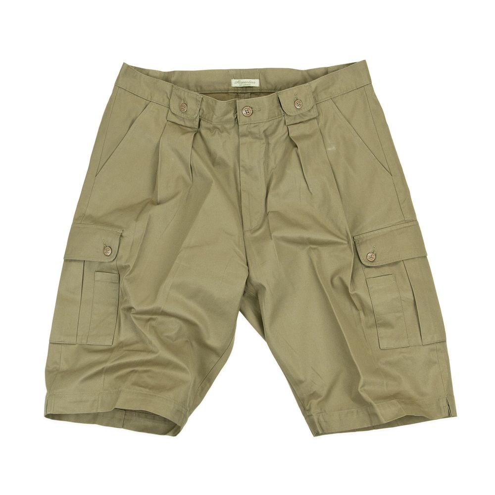 Multi Purpose Safari Shorts Colour Whisky Shorts
