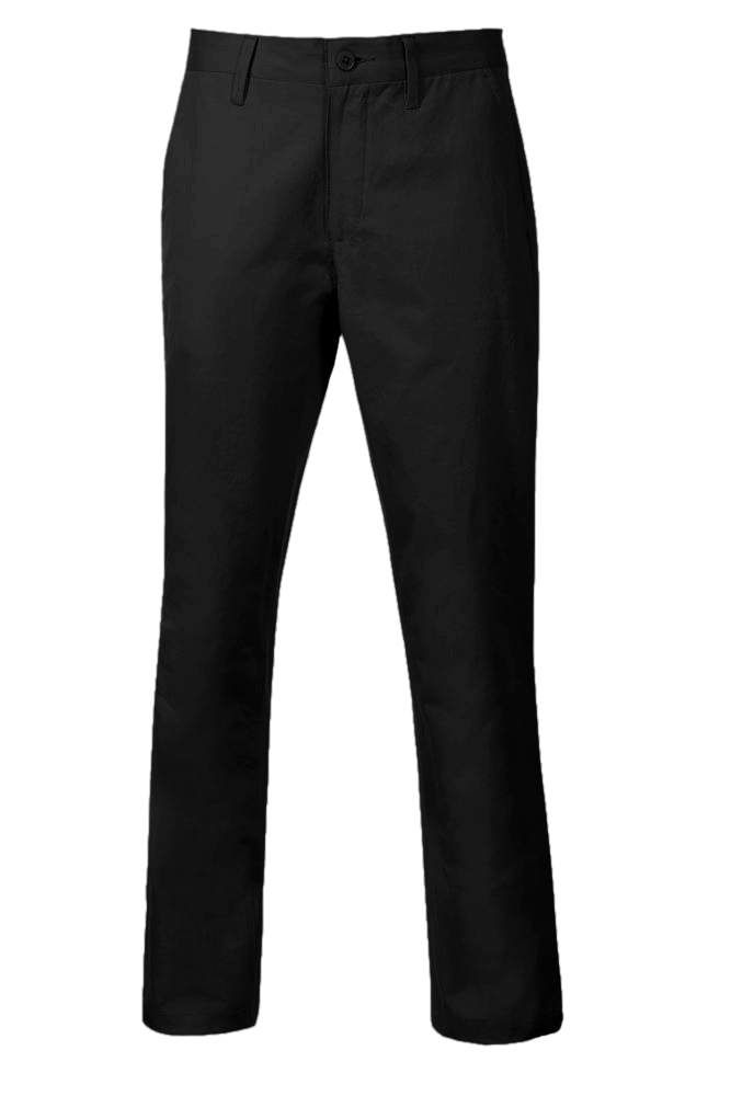 Slim Fit Chinos & Casual Pants for Men If you're looking for a tailored, sleek, and comfortable look, check out our men's Slim Fit chinos & casual pants. You can shop a range of styles and colors, from black to khaki pants.