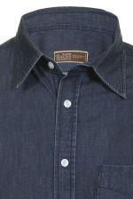 Fine Weave Denim Shirt Denim wash