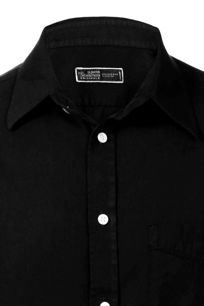 Black Shirt Cotton | Is Shirt